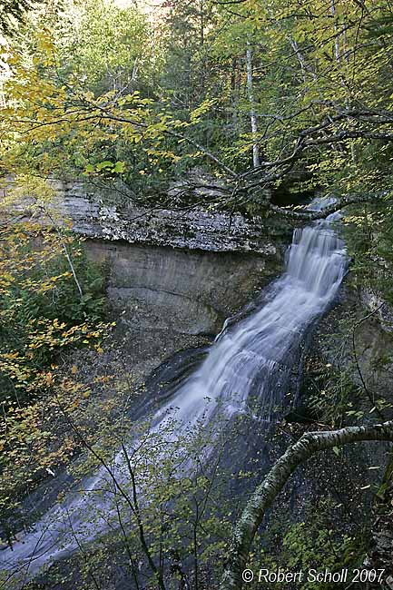 Chapel Falls Michigan Waterfalls
