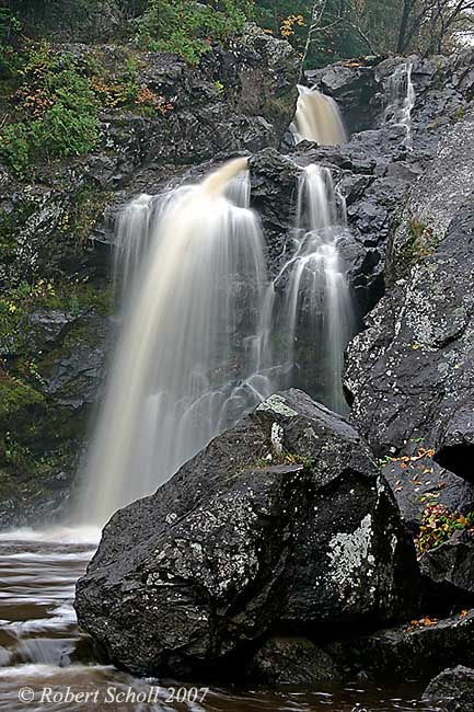 Gabbro Falls Michigan Waterfalls