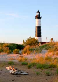 Big Sable Lighthouse Note Card