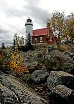 Eagle River Lighthouse Note Card