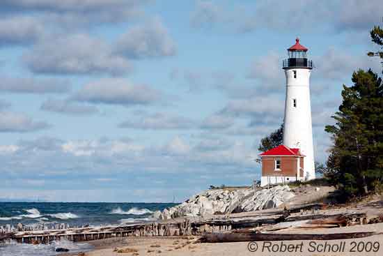 Photos of Michigan Lighthouses